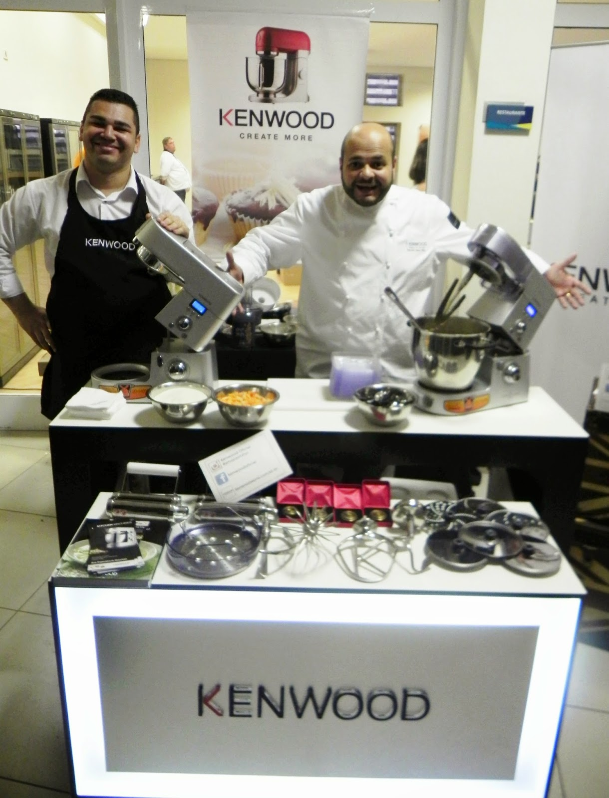 demonstração cooking chef kenwood faz tudo 3 encontro gourmet