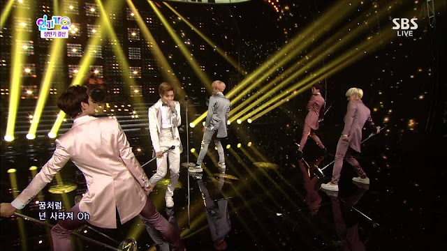 shinee dream girl inkigayo special stage 130714