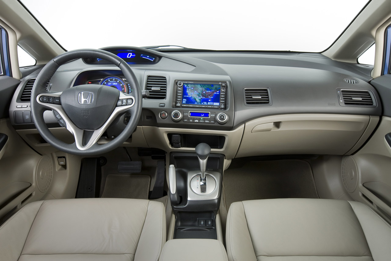 Honda Civic 2001 4 Door Interior Images & Pictures - Becuo
