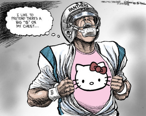 O Pinion The Truth Behind The Cam Newton Cartoon