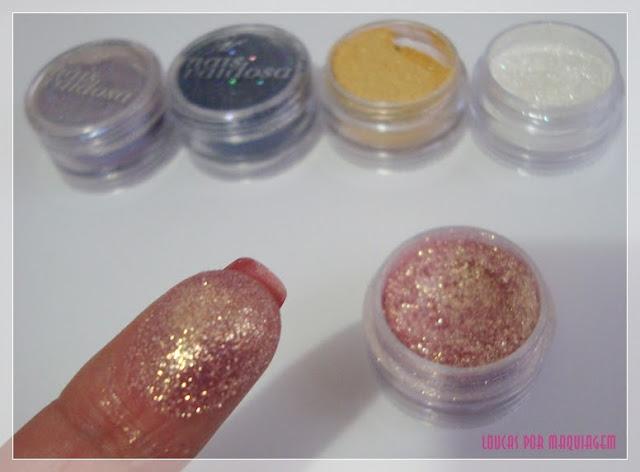 Sombras Asa de Borboleta e Glitter Mais Vaidosa
