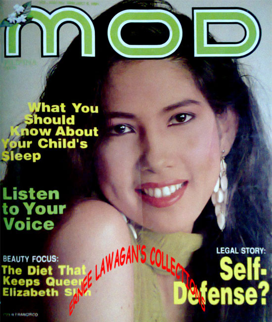July 05 (1991): MOD Filipina Magazine Vol. XXIII No. 1035