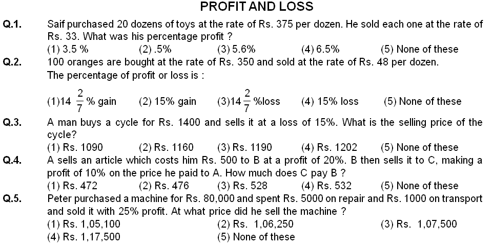 Types Of Profit And Loss Worksheet Pictures to Pin – Profit Loss Worksheet