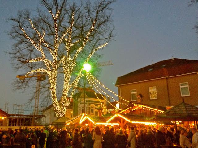Christmas market 2013 in Leer, Germany.