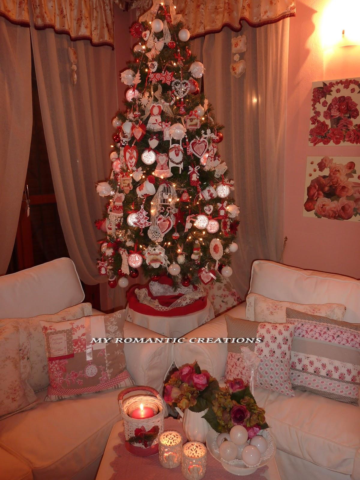 My romantic creations natale a casa mia - Natale in casa addobbi ...