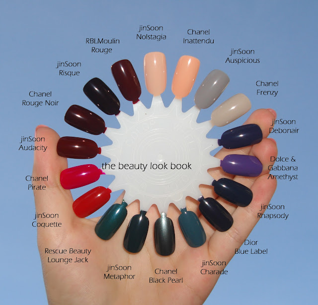The Beauty Look Book: JINsoon Nail Lacquers