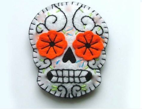 The make escape day of the dead craft night tue 30 for Day of the dead arts and crafts