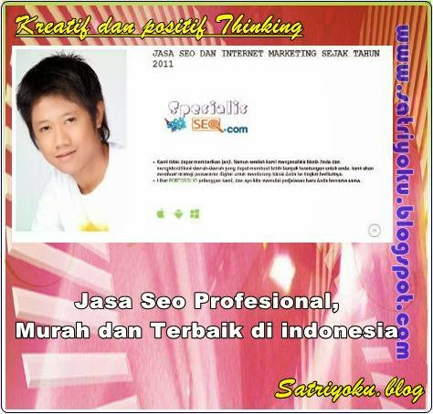 Jasa Seo Profesional, Murah dan Terbaik di indonesia