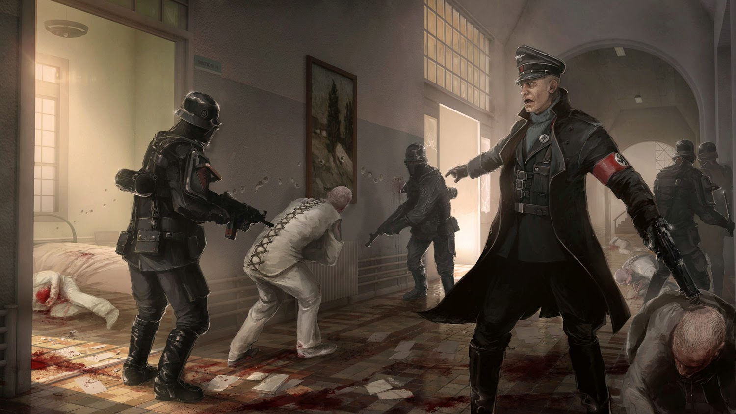 Wolfenstein the new order PC game Download