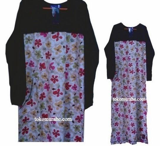 Baju Gamis Muslimah Oka Oke Dewasa Edisi Bulan Desember