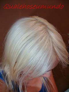 como ter cabelo platinado