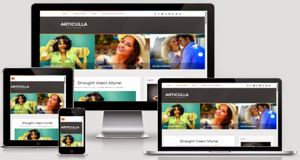 Articulla Responsive Blogger Template Free Download