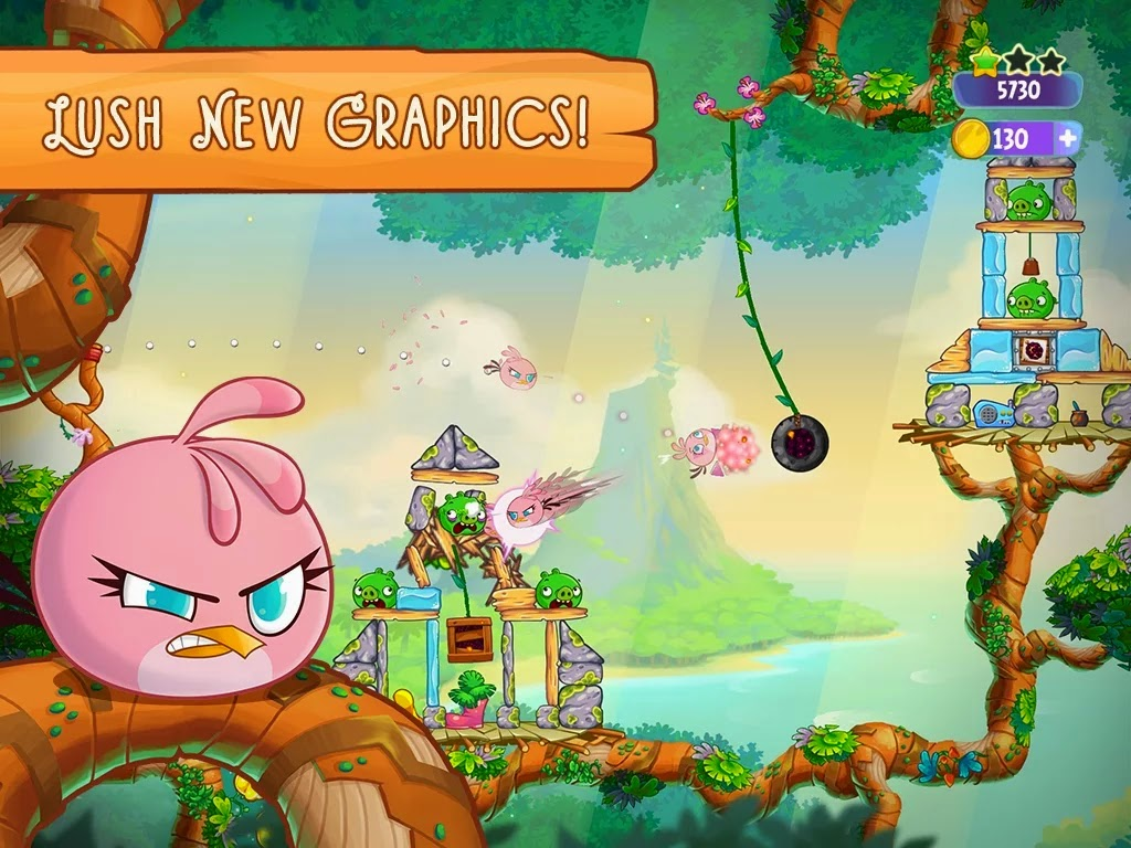 Angry Birds Stella v1.0.2 Mod [Unlimited Coins]