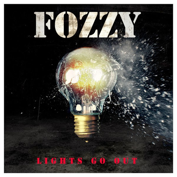 Fozzy - Lights Go Out - Single Cover