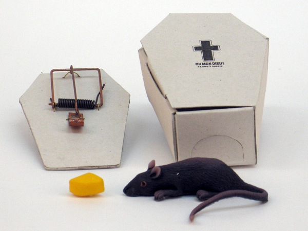 Coffin mouse trap by Sarah Déry