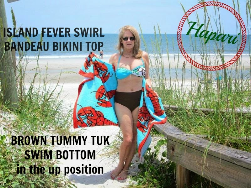 7bdb3f460b Cotton Pickin Cute  Why I m Wearing A Hapari Bikini In My 5o s  Giveaway