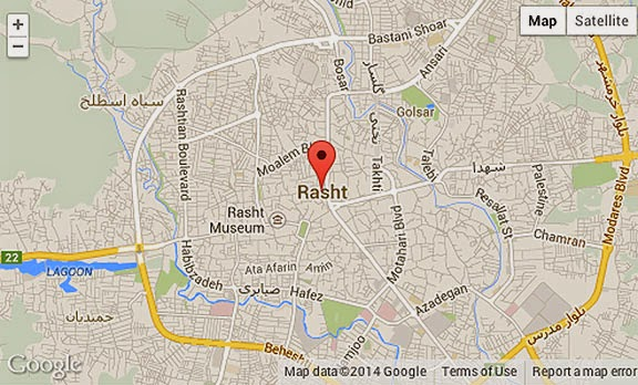 Rasht Location Guide