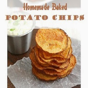 Easy Baked Potato Chips Recipe