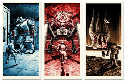 Boss Fight 2 Ode to Id Video Game Themed Screen Print Series by Nick Derington & Nakatomi