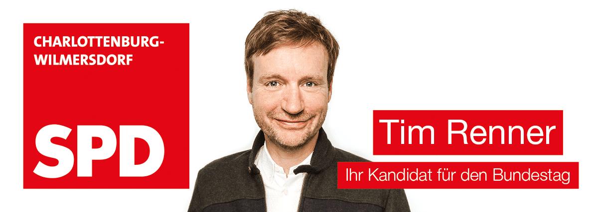 Tim Renner - Bundestagskandidat für Charlottenburg-Wilmersdorf