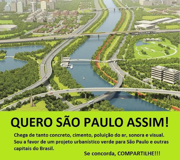 quero São Paulo verde