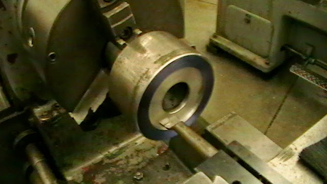 machining alignment bore onto collet cloture