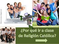 ¿Porqué matricularse en Religión Católica?