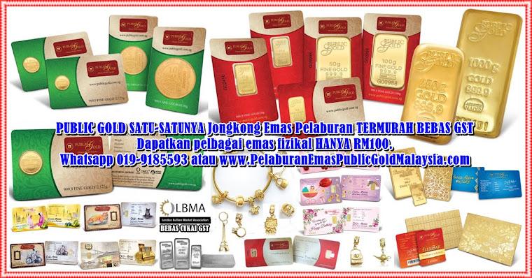 PELABURAN  EMAS DINAR PUBLIC GOLD  MALAYSIA