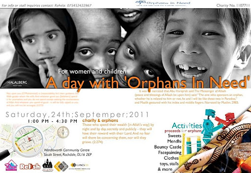 orphan sponsor party halal food british muslims