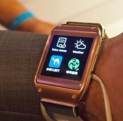 Orologio smartwatch smartphone