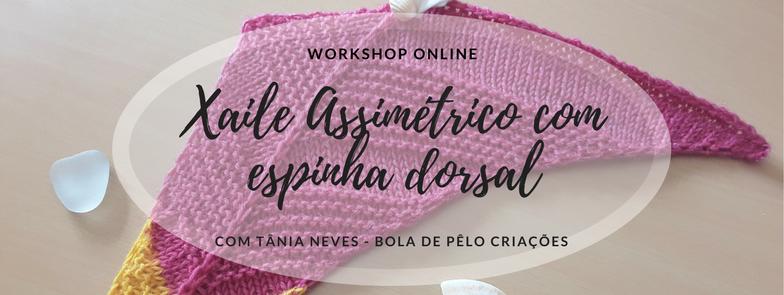 Workshop online Xaile Assimétrico com espinha Dorsal