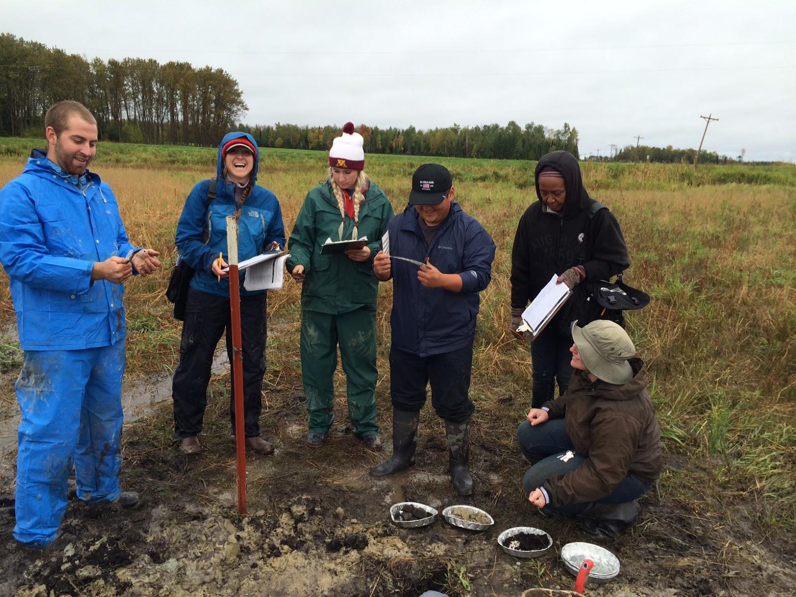 University of minnesota soil judging team september 2015 for Soil judging