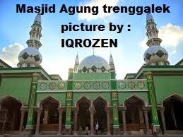 Masjid Agung Kota Trenggalek Berjaya