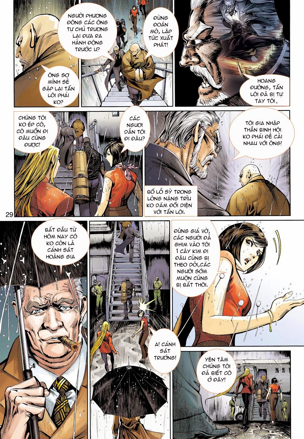 Thần Binh 4 chap 25 - Trang 31