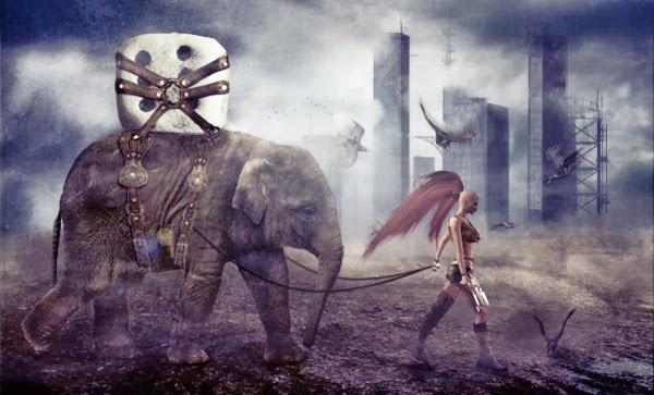An Amazing Apocalyptic Photo Manipulation in Photoshop