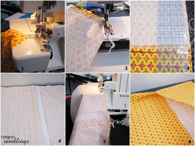 Step by step pillow case tutorial great quick and easy sewing - Rae Gun Ramblings