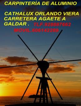 CARPINRERIA DE ALUMINIO CATAHALUX .