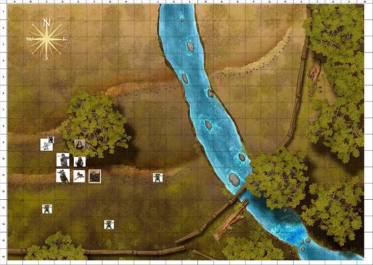 Combat Map Turn 10