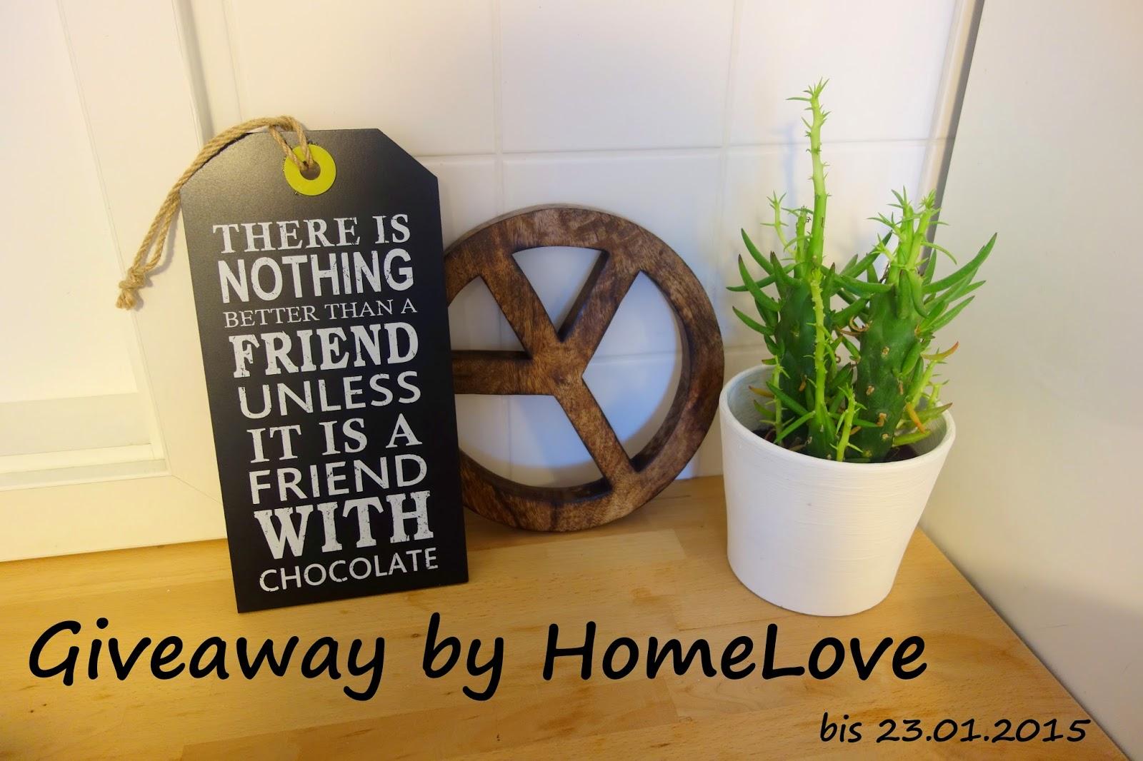 Verlosung bei HomeLove