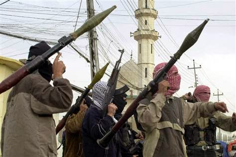 Para pejuang di Asia Barat