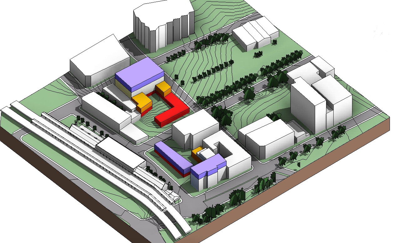 Site Plan Revit : Revit tip change the color of rpc trees therevitkid