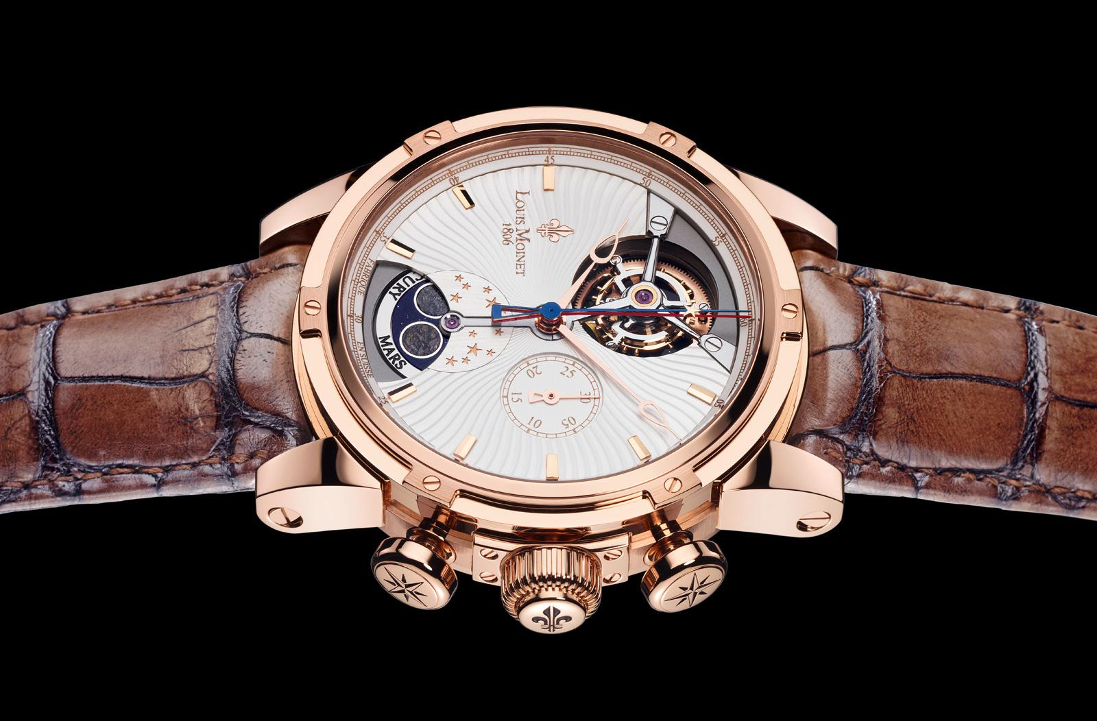 Watchuseek watch blog martian magic louis moinet astralis collection for Louis moinet watch