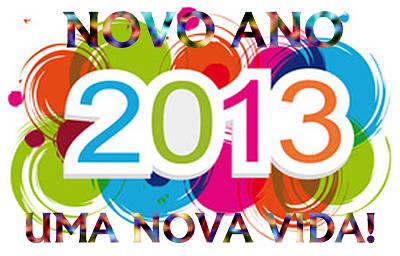 2013 Novo Ano, Nova Vida!