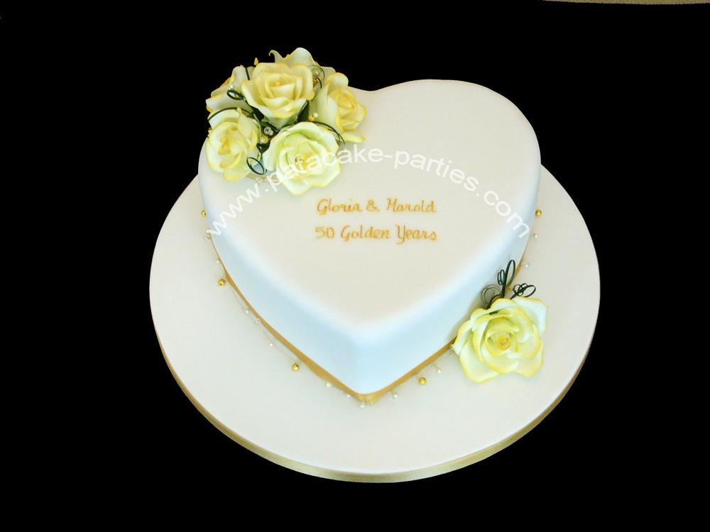 Pat-a-Cake Parties: Golden Anniversary Cake