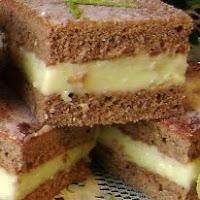 Cuadraditos de Chocolate con Crema de Limón