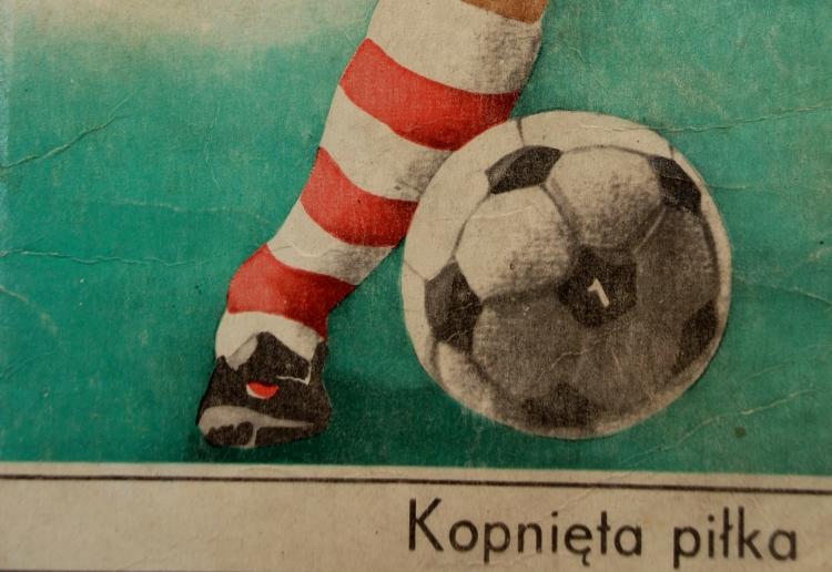 """Fragment okładki publikacji """"Mundial'78. Kopnięta piłka"""""""