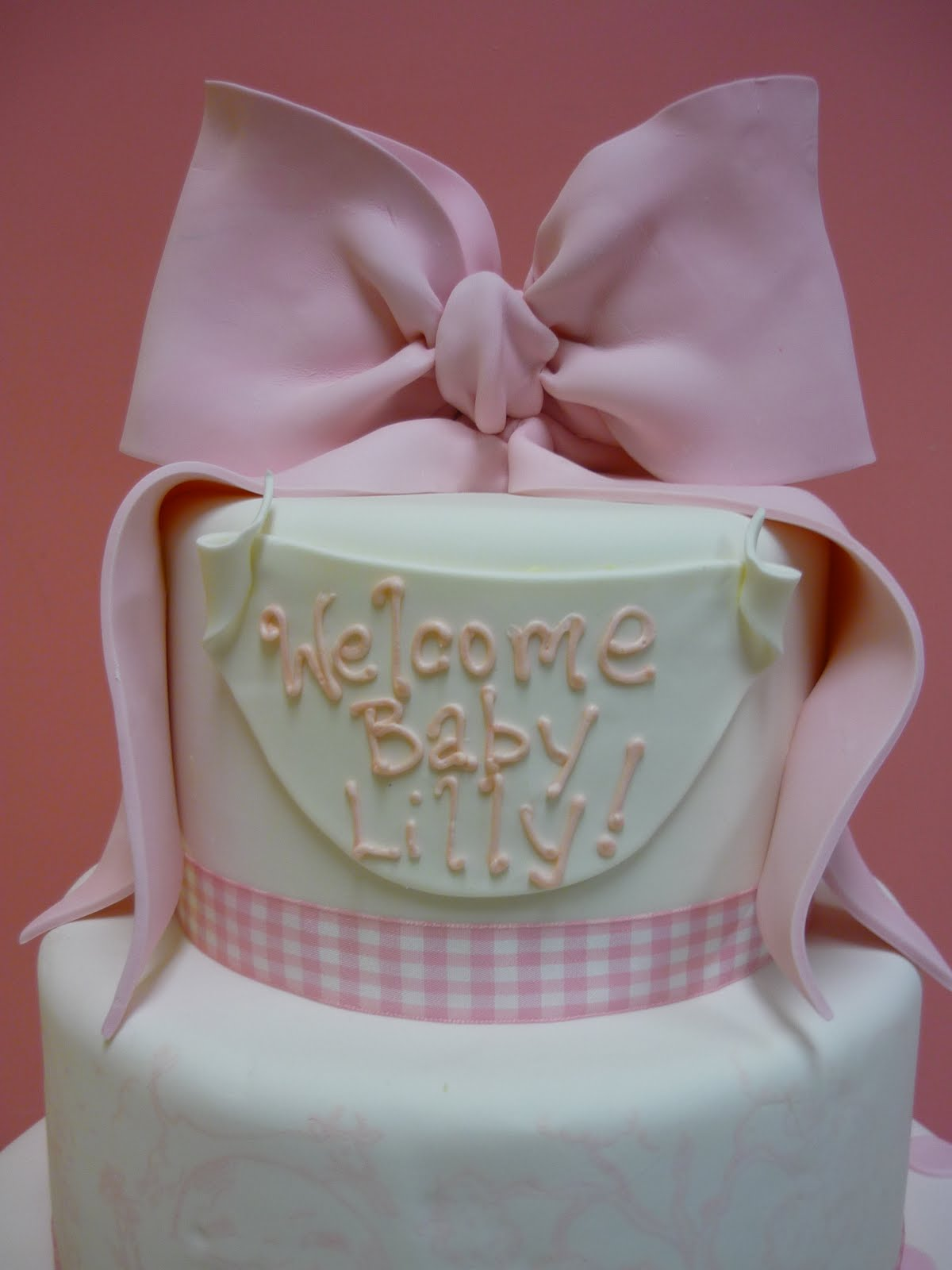 Delicious Baby Girl Cakes Ideas