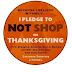Say NO to Shopping on Thanksgiving