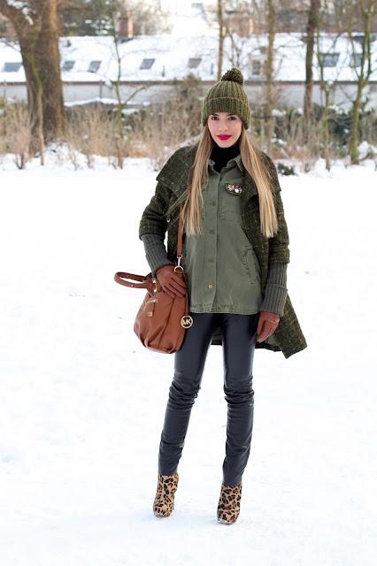 a filha do chefe talita carvalho batom vermelho neve inverno europa