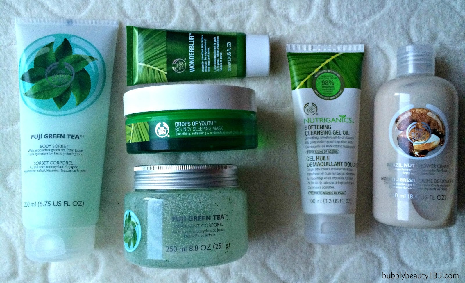 Haul | The Body Shop | www.bubblybeauty135.com